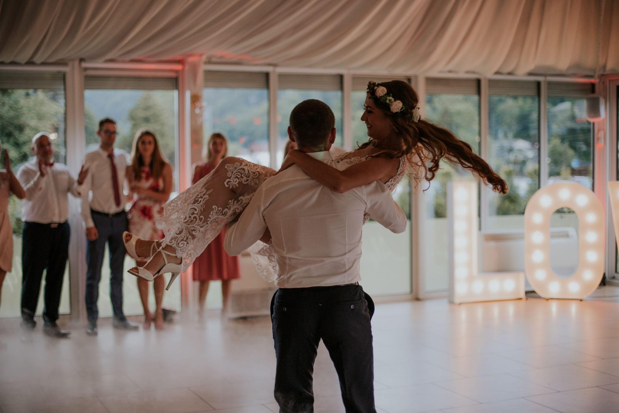 Kasia & Tomek <br>Ślub w Szczyrku 112