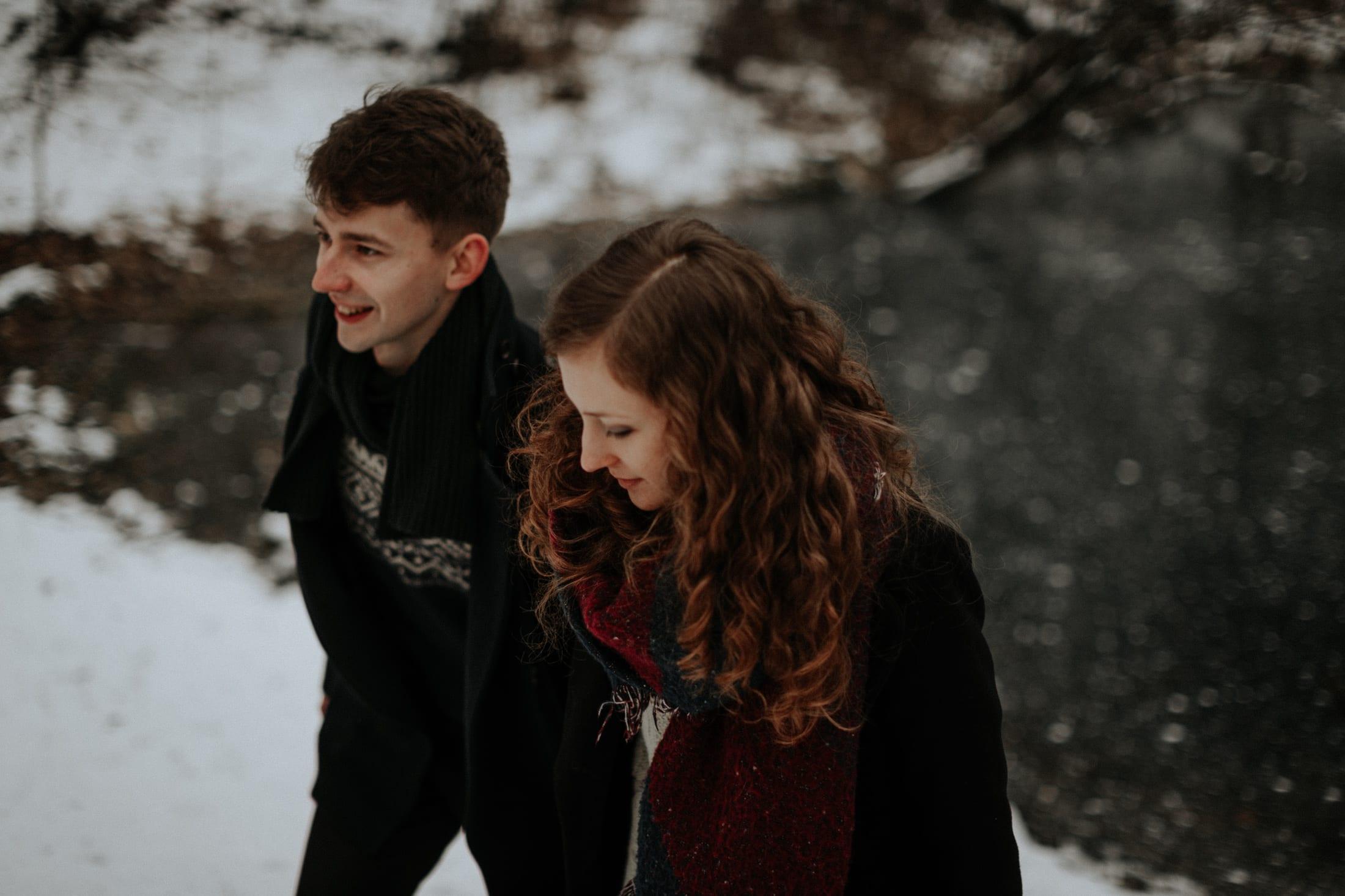 Ala & Piotrek <br>Zimowa sesja narzeczeńska 15