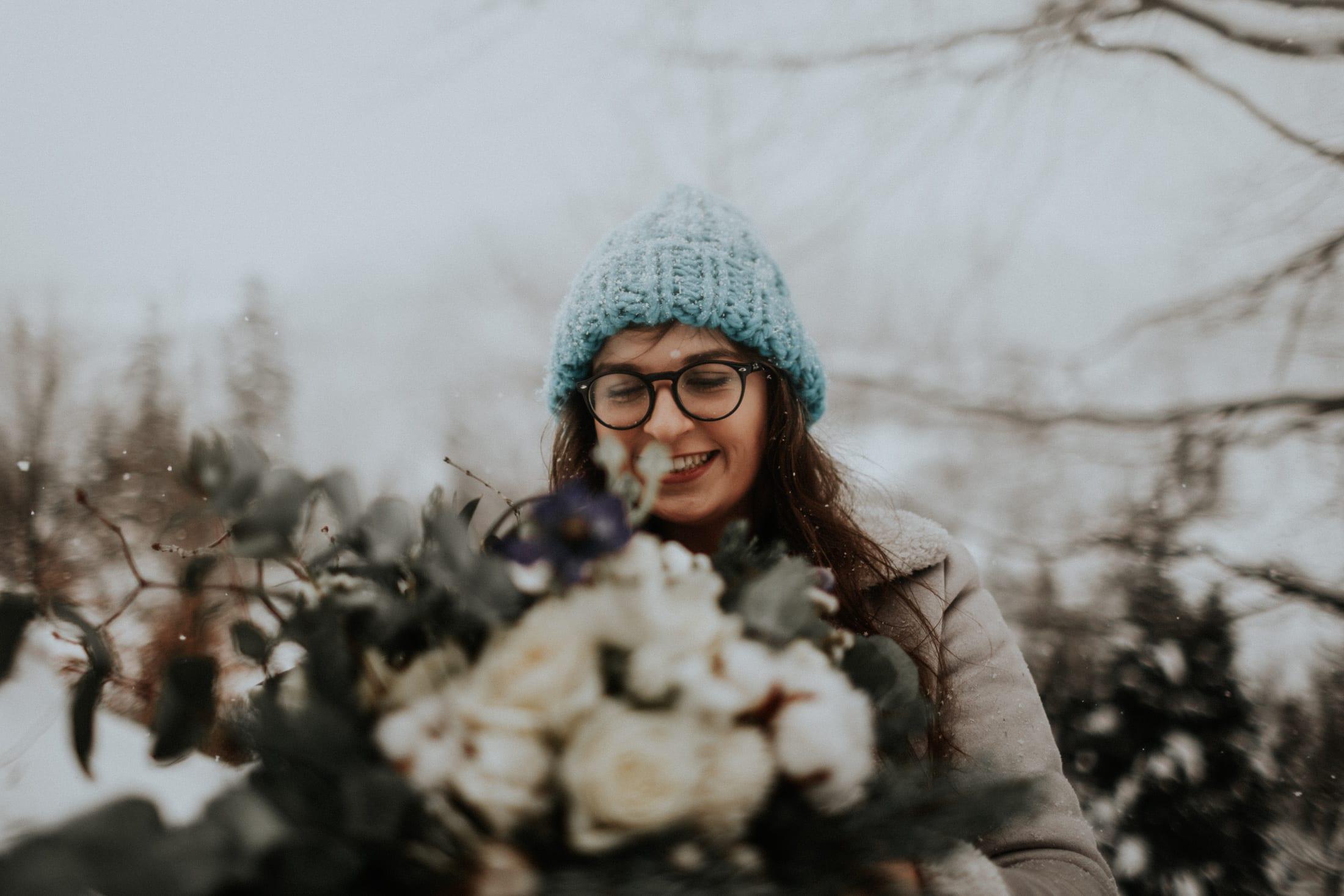 Kasia & Mariusz <br>Zimowa sesja w górach 1