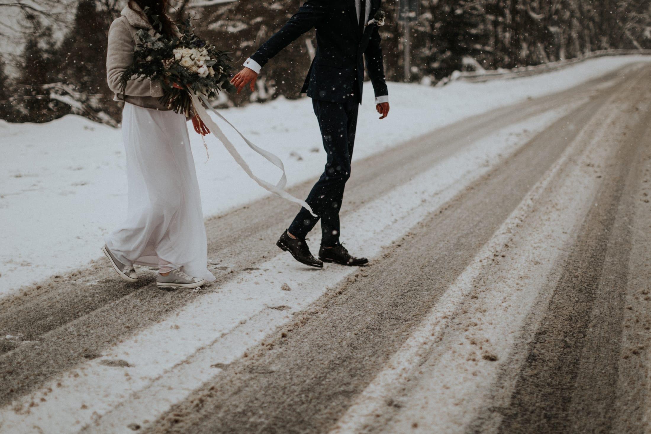 Kasia & Mariusz <br>Zimowa sesja w górach 3