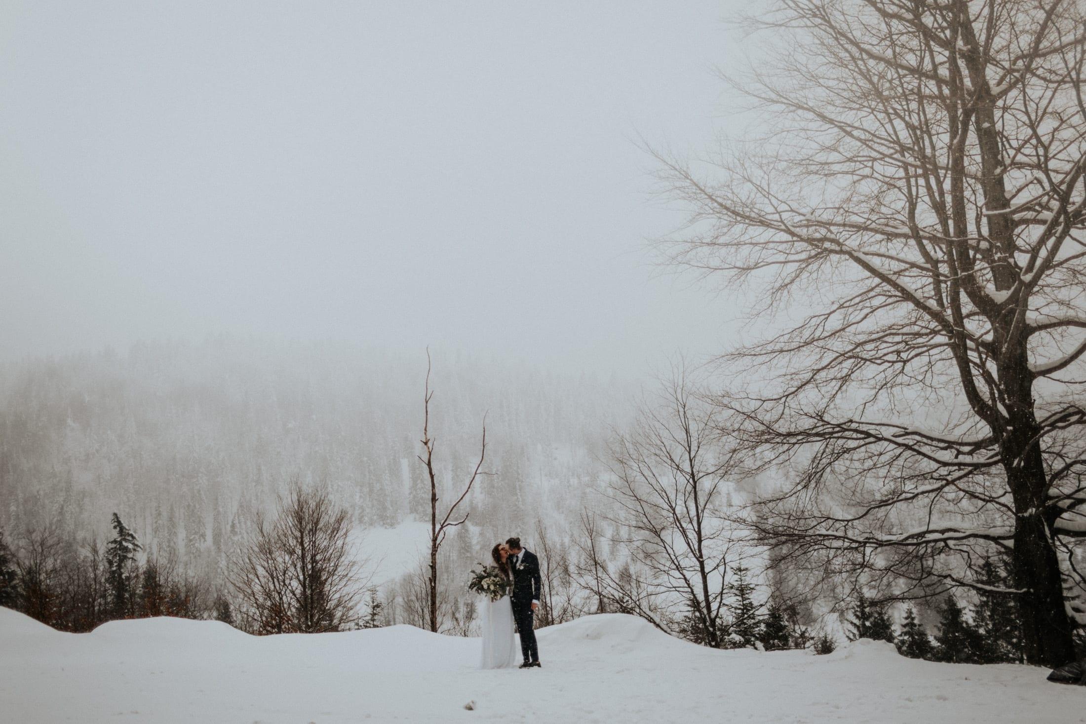 Kasia & Mariusz <br>Zimowa sesja w górach 5