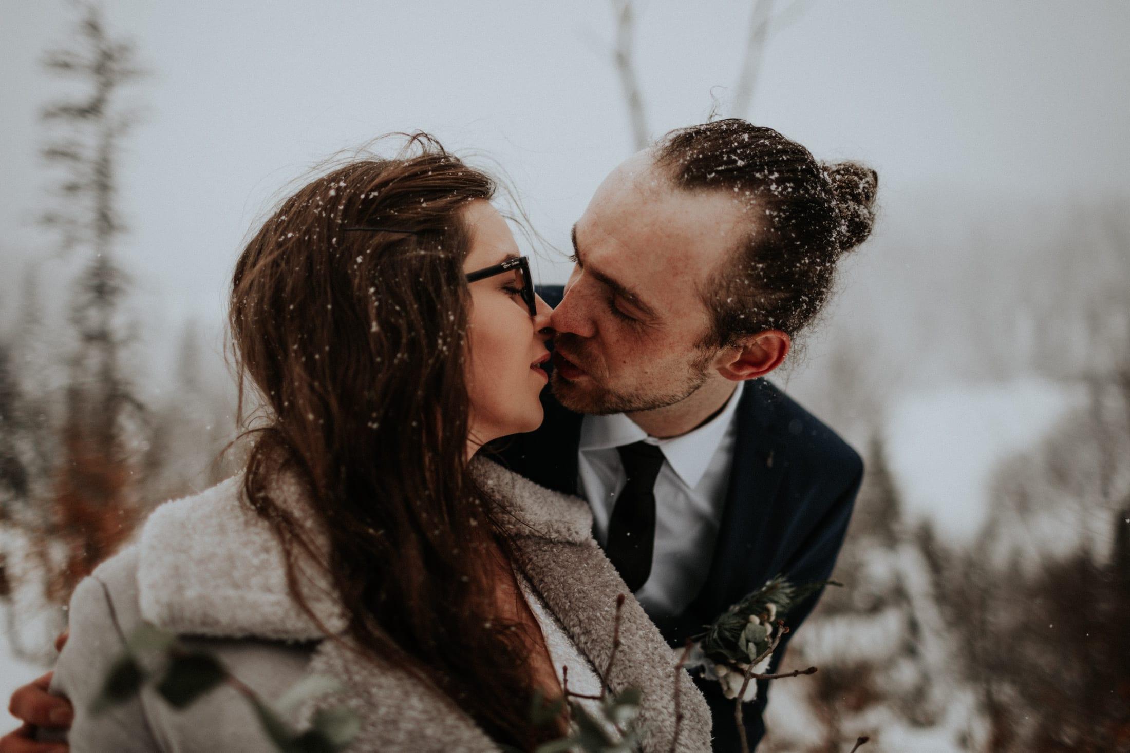Kasia & Mariusz <br>Zimowa sesja w górach 7