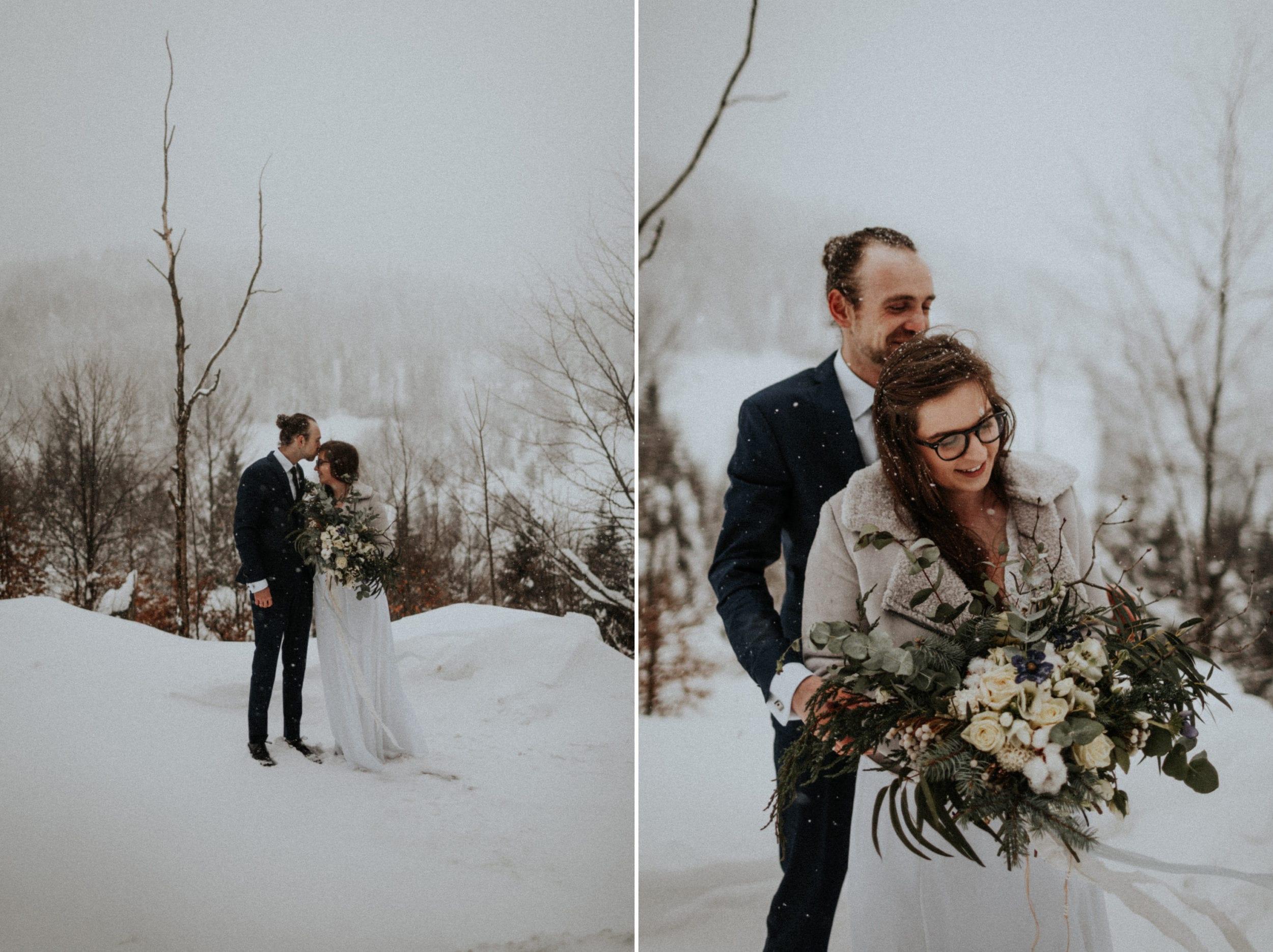 Kasia & Mariusz <br>Zimowa sesja w górach 8