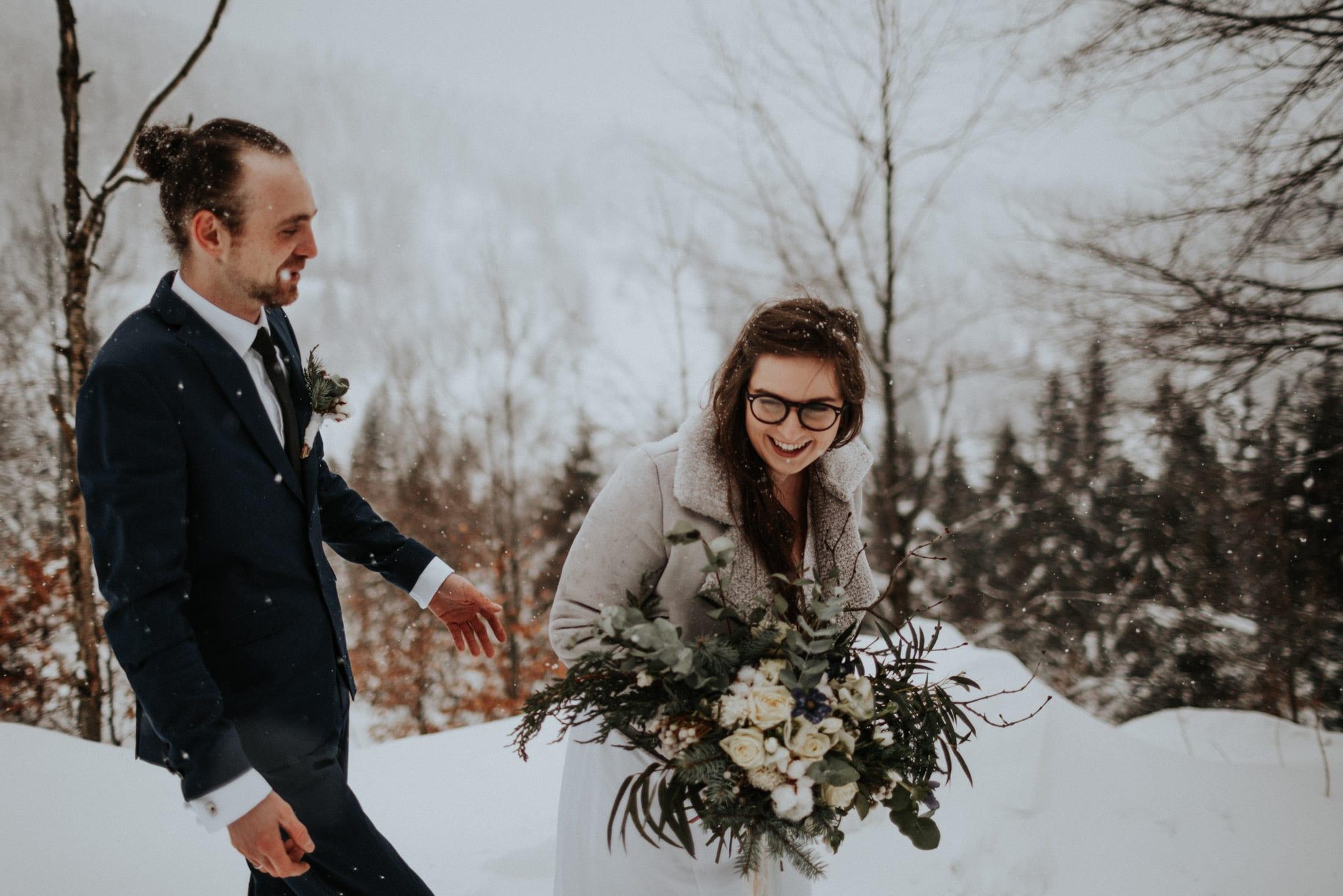Kasia & Mariusz <br>Zimowa sesja w górach 9