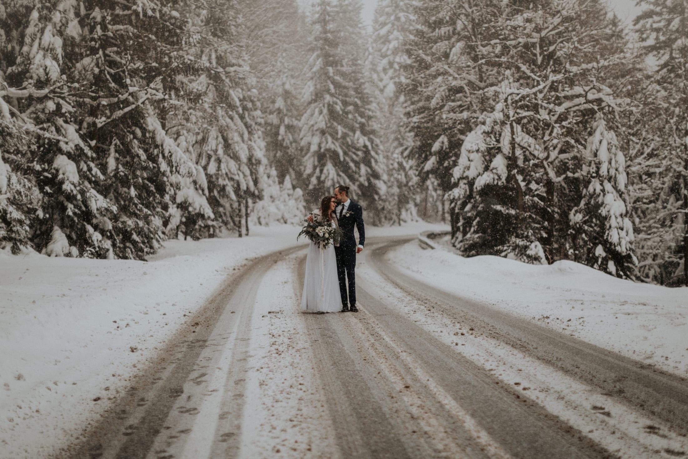 Kasia & Mariusz <br>Zimowa sesja w górach 10