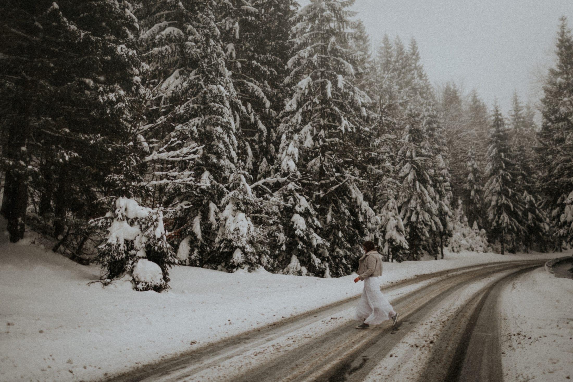 Kasia & Mariusz <br>Zimowa sesja w górach 11