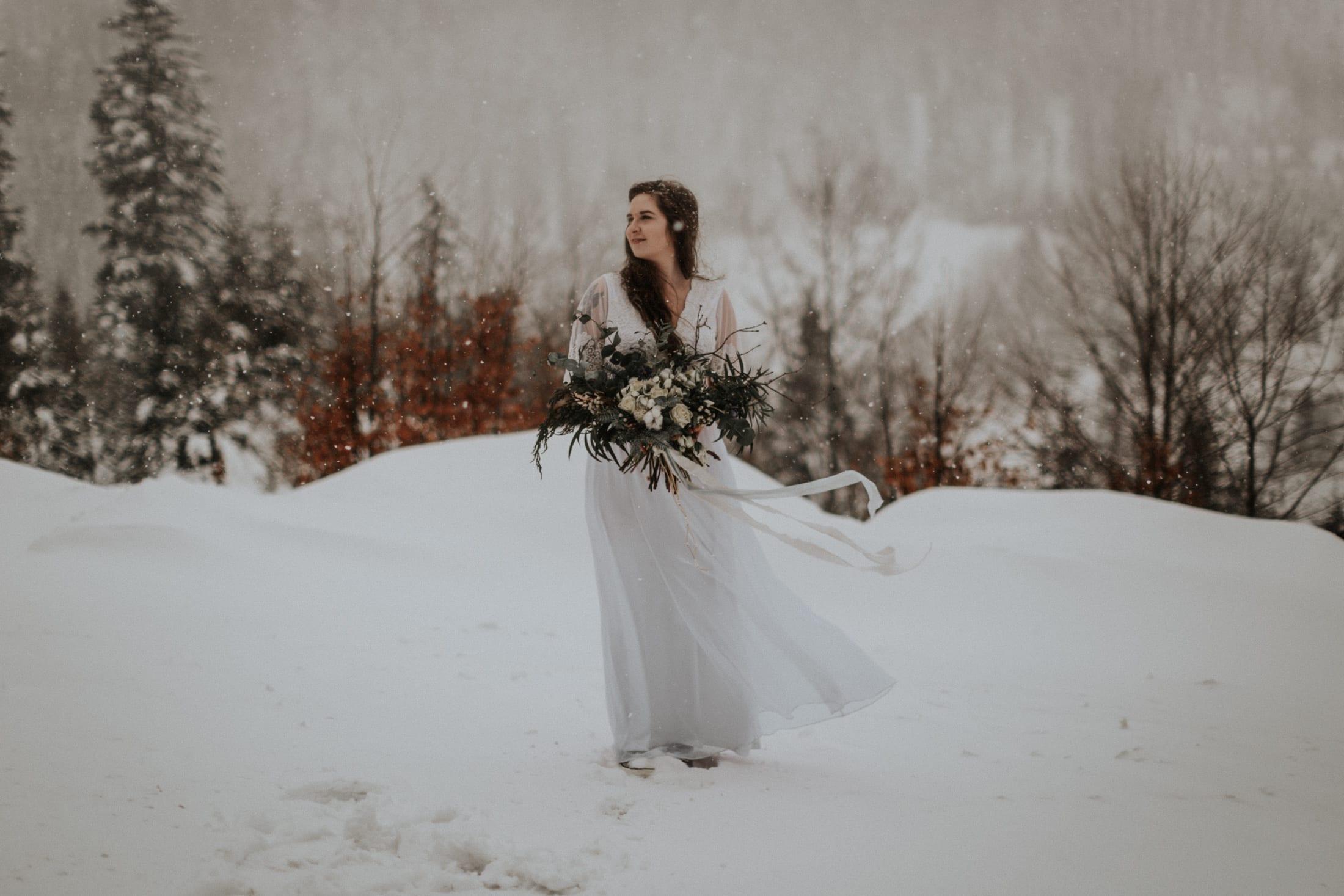 Kasia & Mariusz <br>Zimowa sesja w górach 13