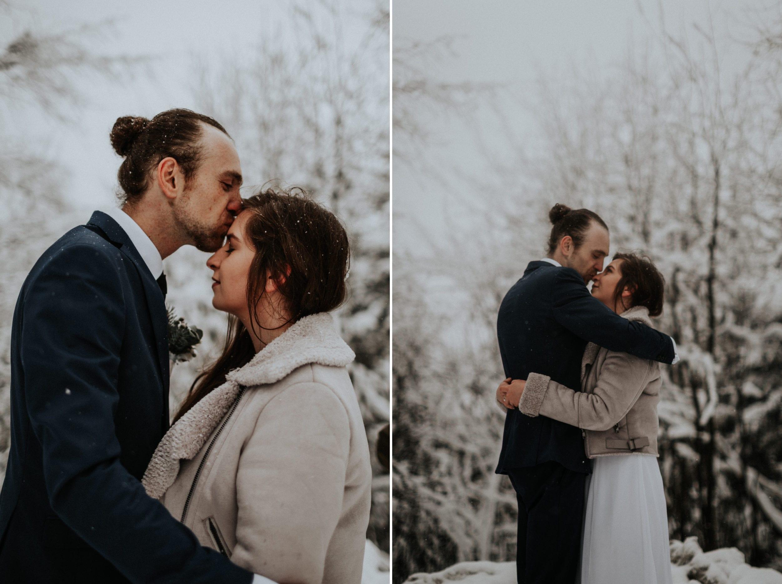 Kasia & Mariusz <br>Zimowa sesja w górach 14