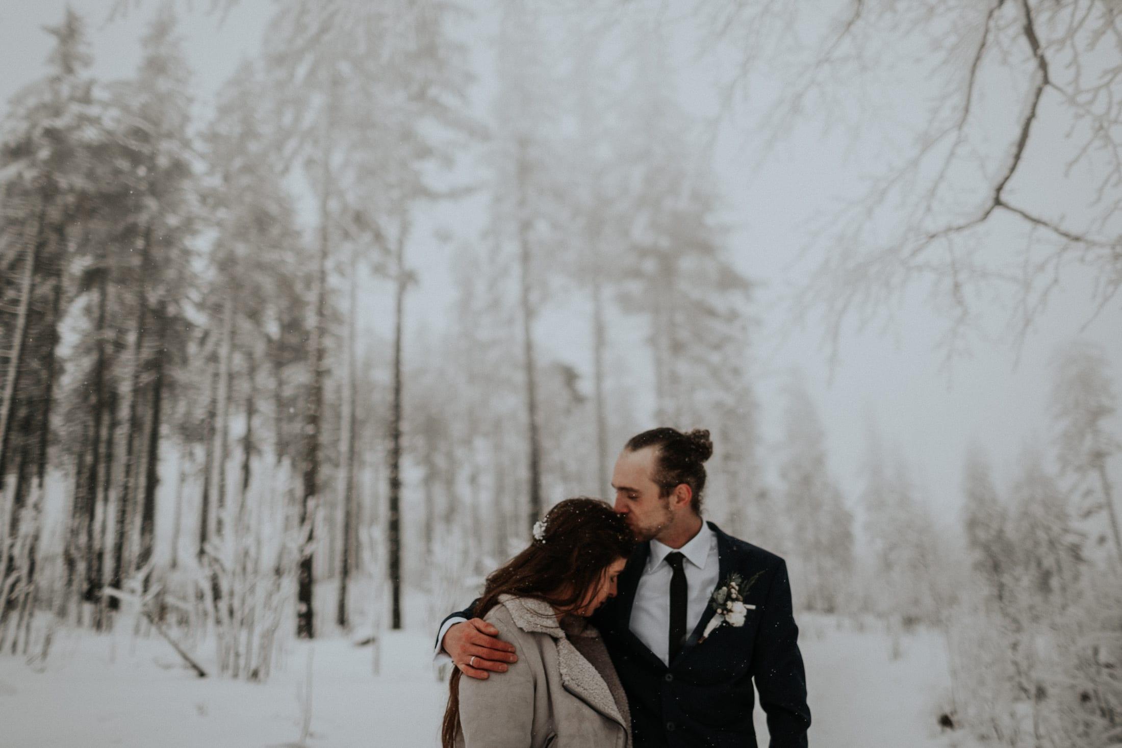 Kasia & Mariusz <br>Zimowa sesja w górach 19