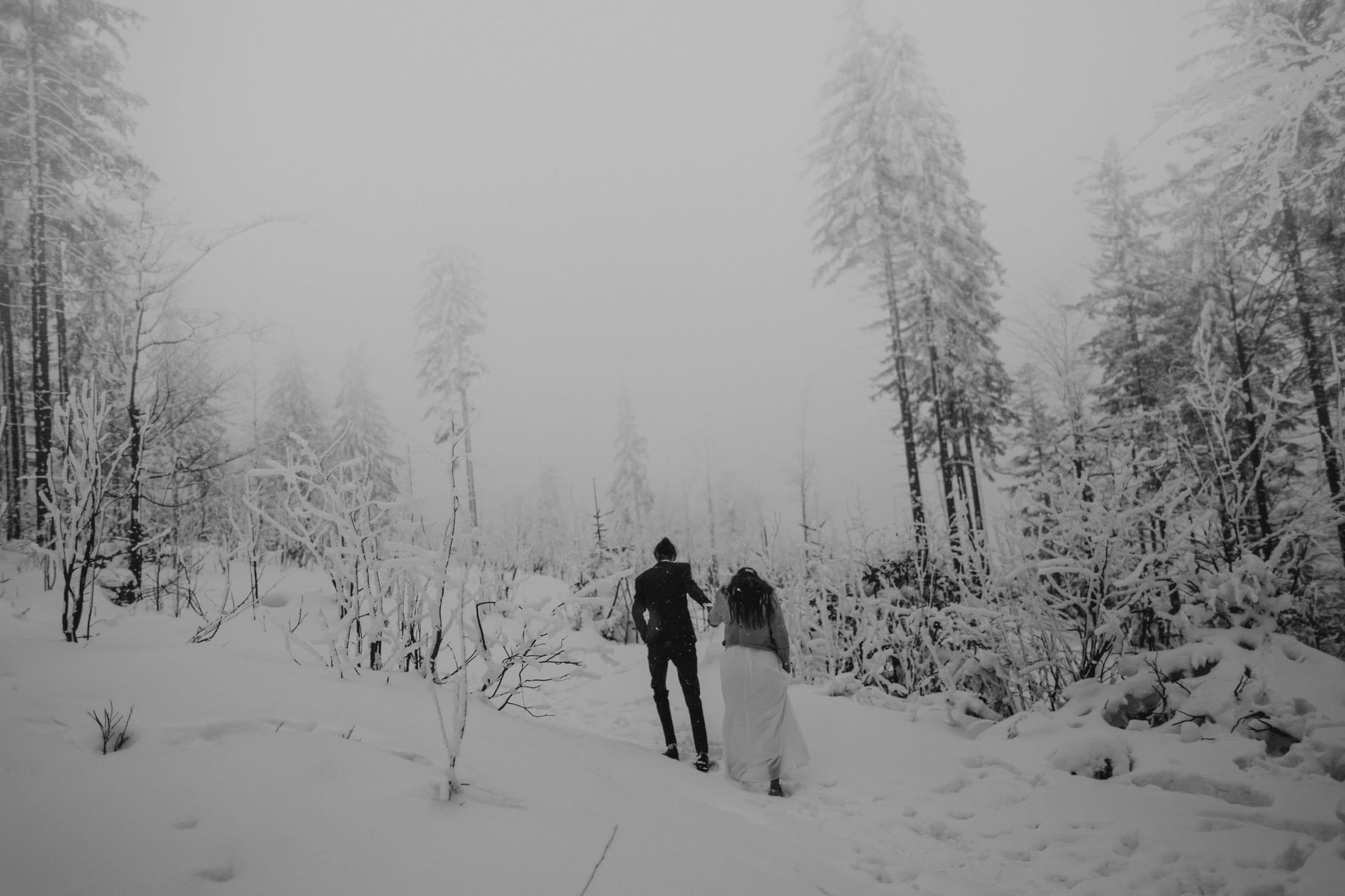 Kasia & Mariusz <br>Zimowa sesja w górach 22