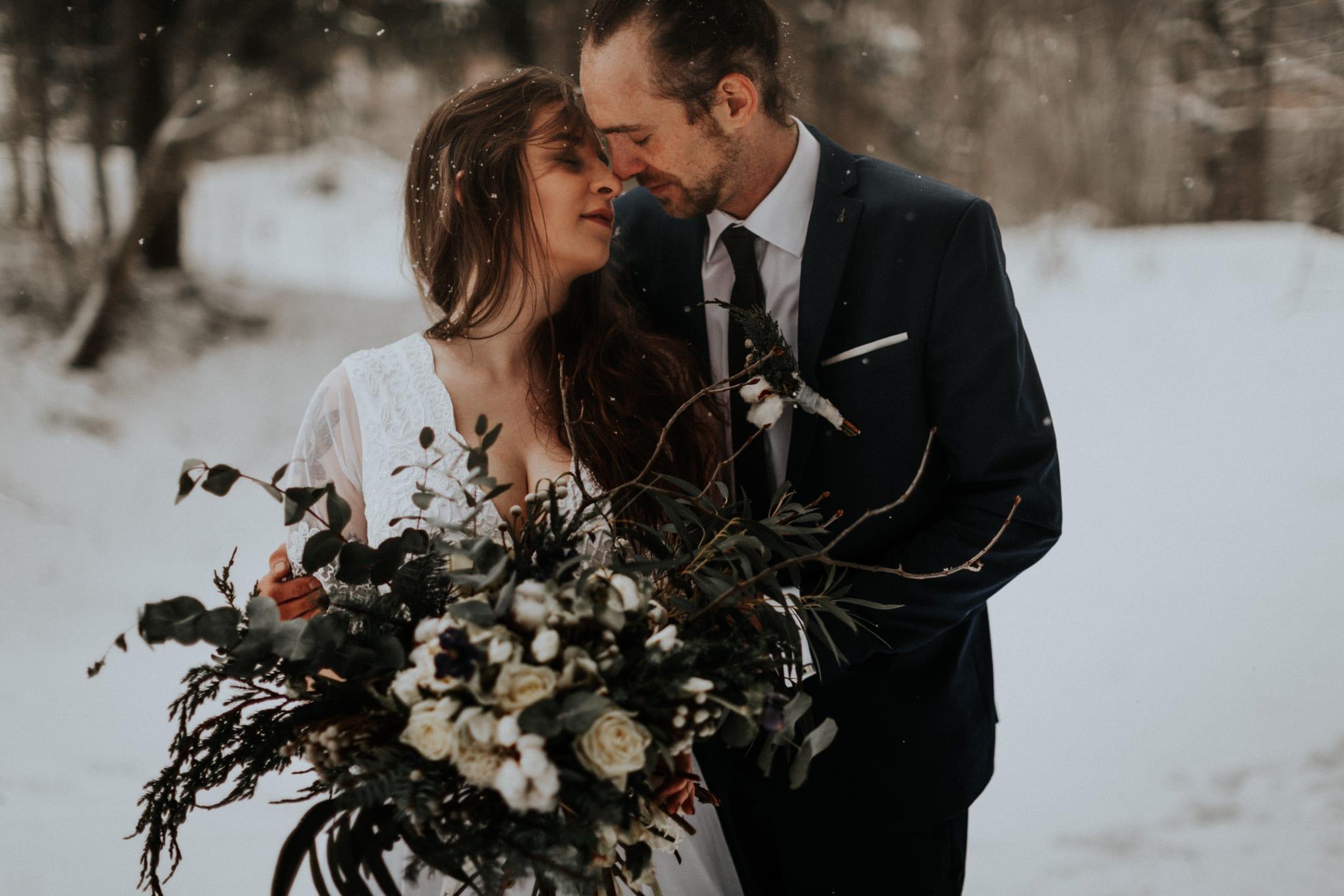 Kasia & Mariusz <br>Zimowa sesja w górach 23