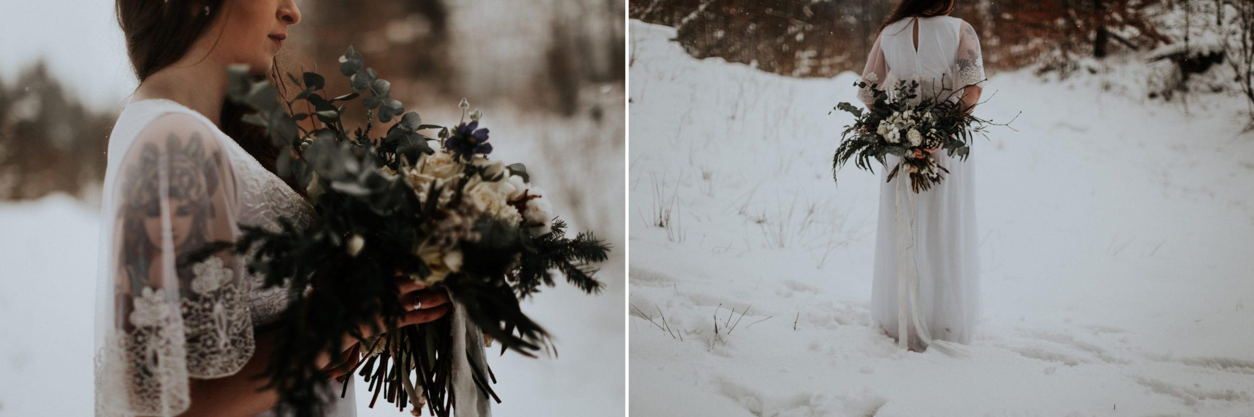 Kasia & Mariusz <br>Zimowa sesja w górach 24