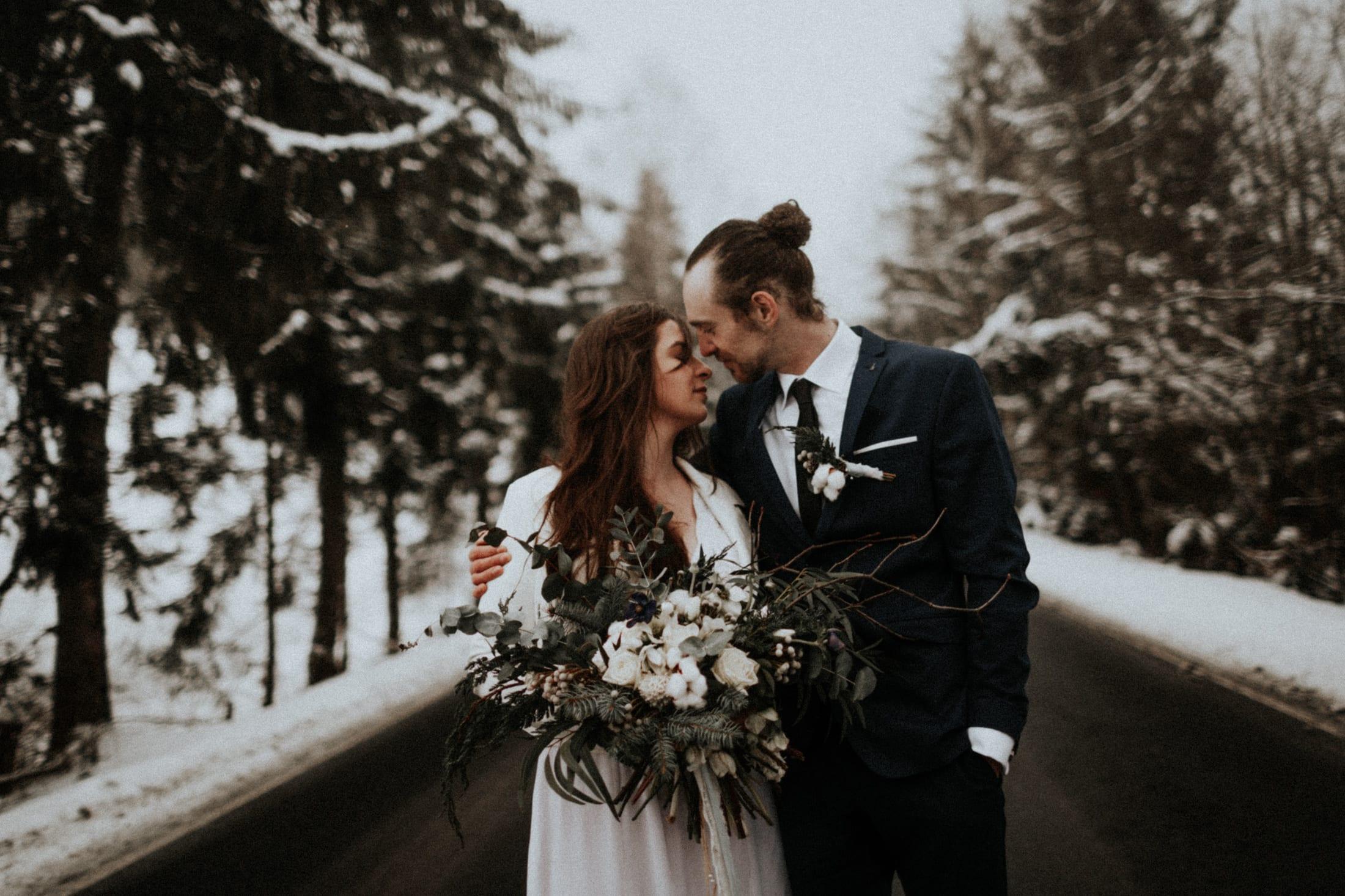 Kasia & Mariusz <br>Zimowa sesja w górach 28