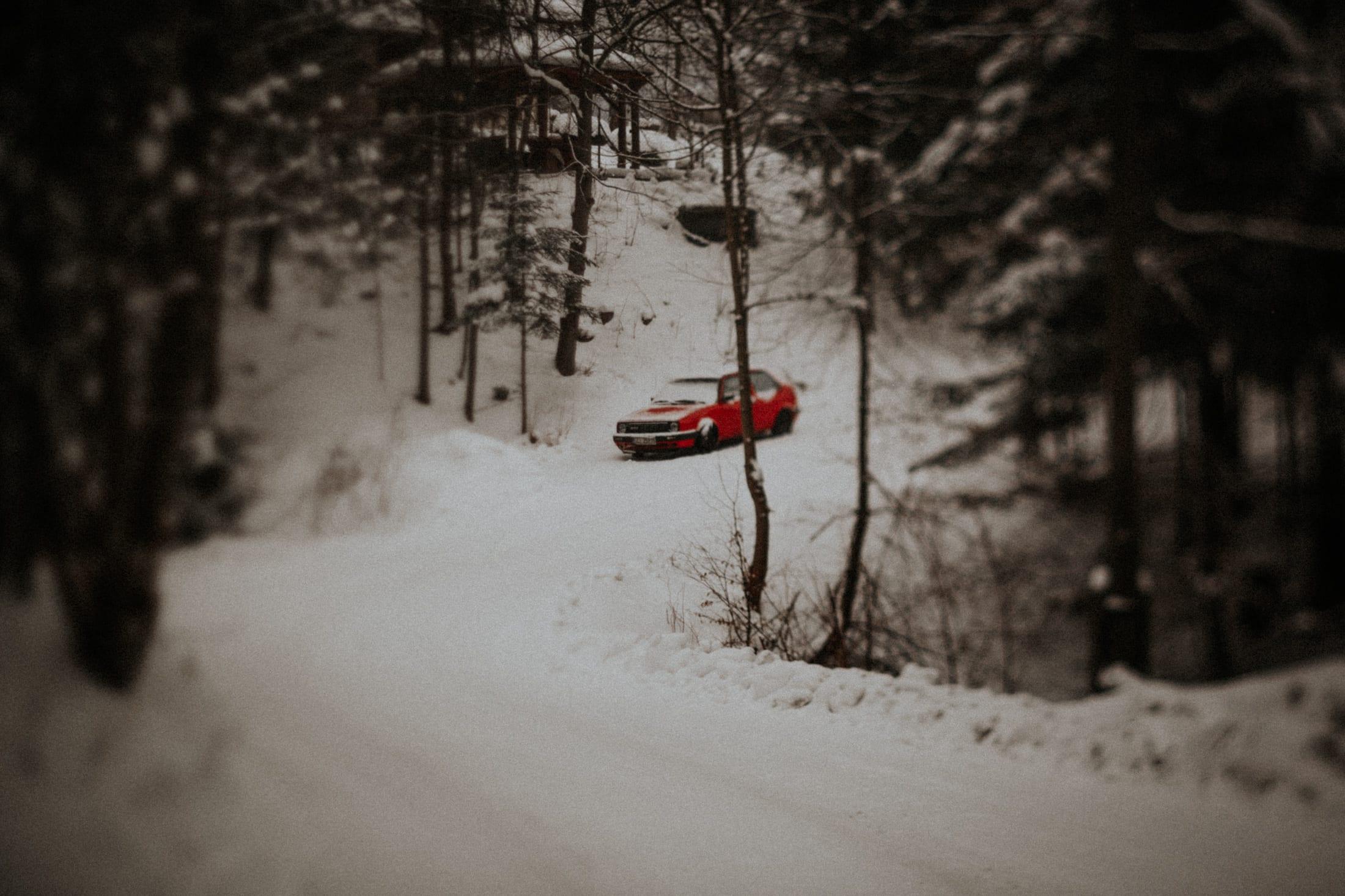 Kasia & Mariusz <br>Zimowa sesja w górach 26
