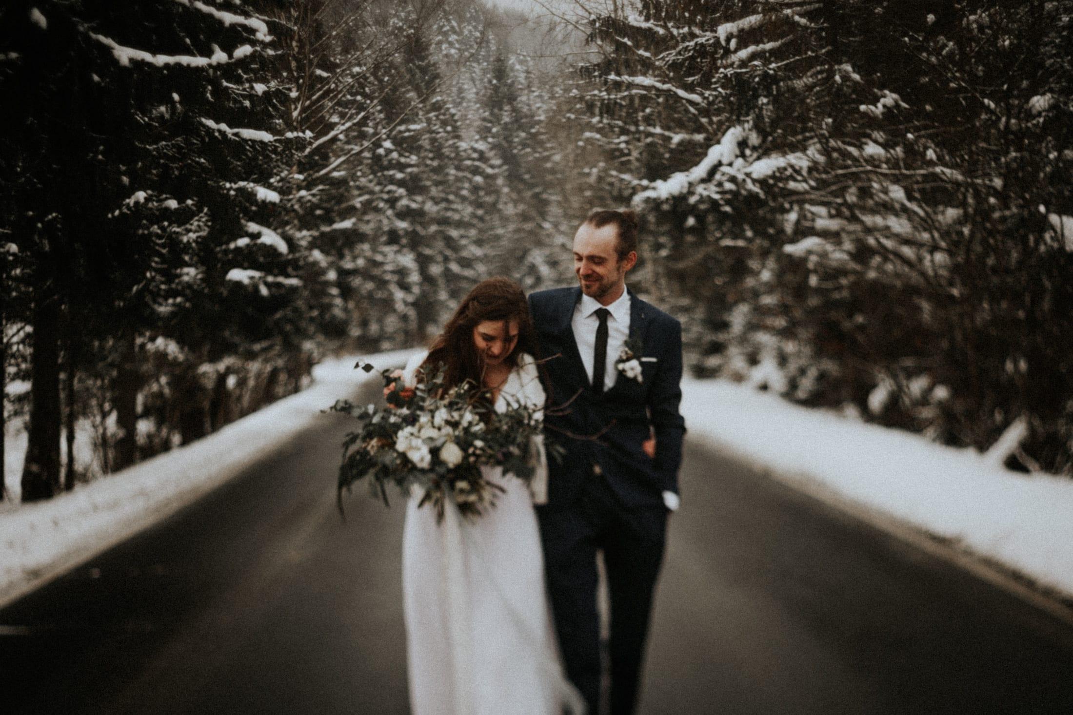Kasia & Mariusz <br>Zimowa sesja w górach 25