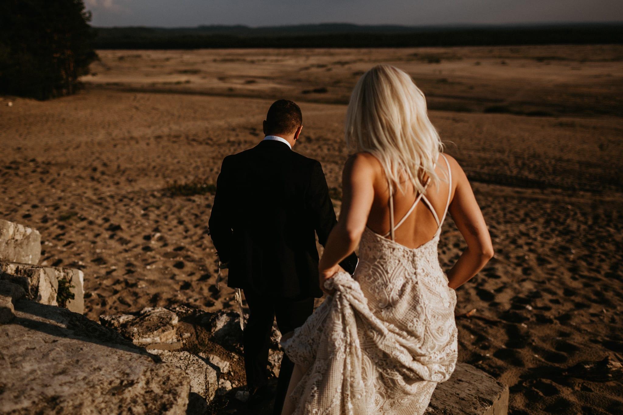 Patrycja & Łukasz <br>Sesja ślubna na pustyni 9