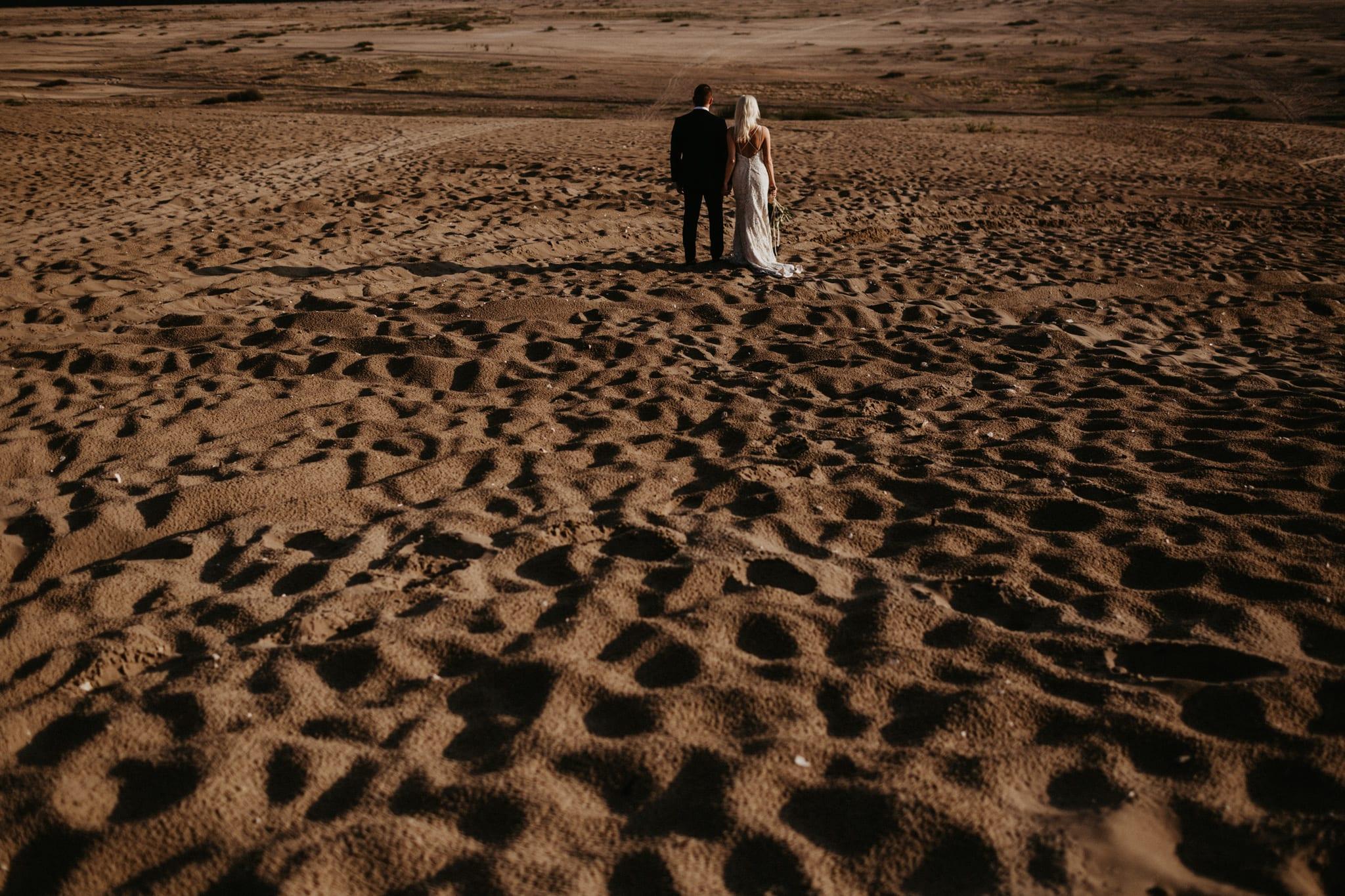 Patrycja & Łukasz <br>Sesja ślubna na pustyni 46