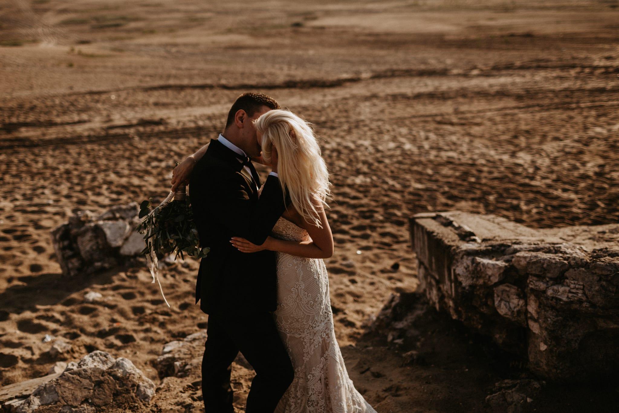 Patrycja & Łukasz <br>Sesja ślubna na pustyni 11