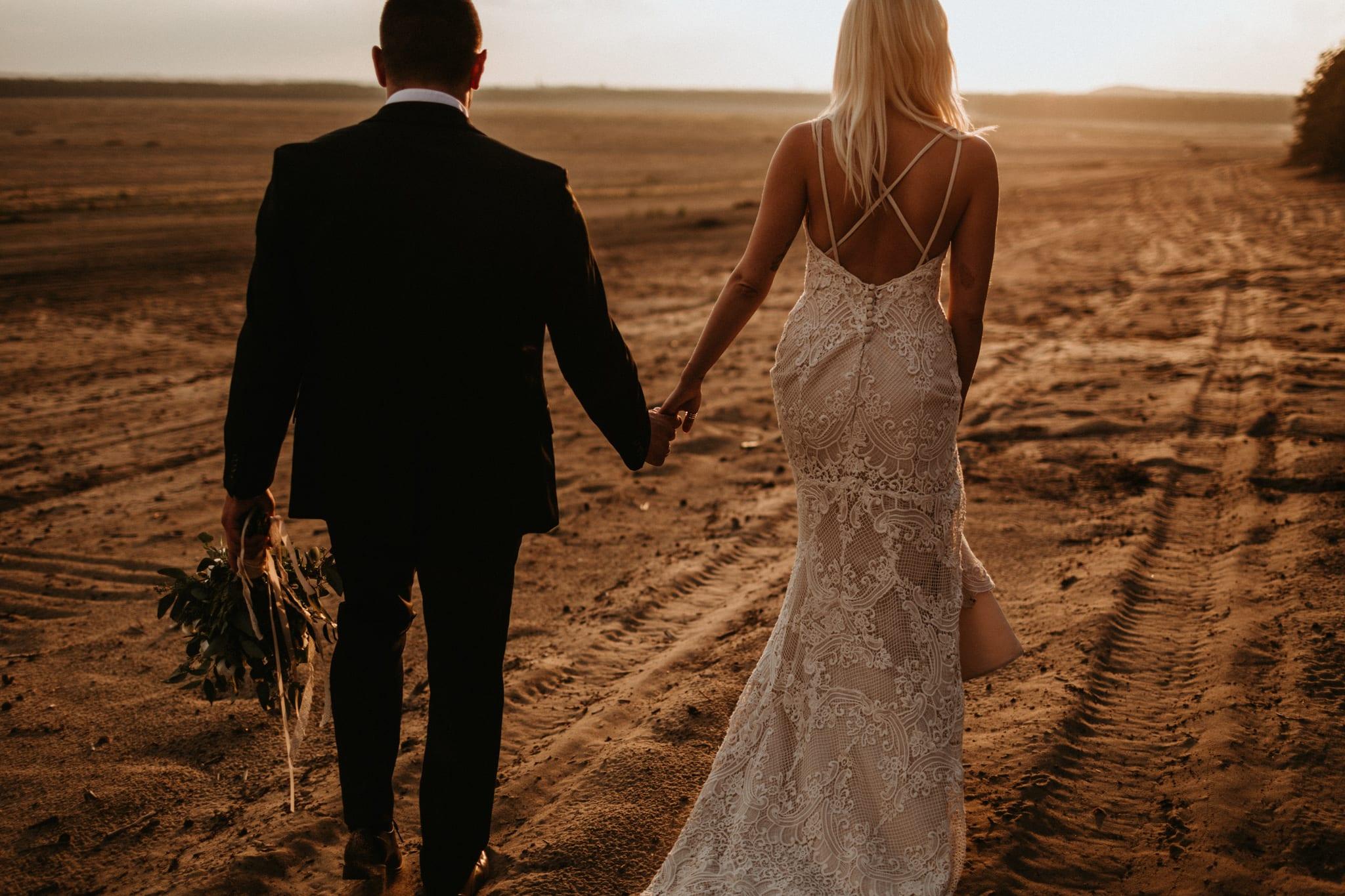 Patrycja & Łukasz <br>Sesja ślubna na pustyni 19
