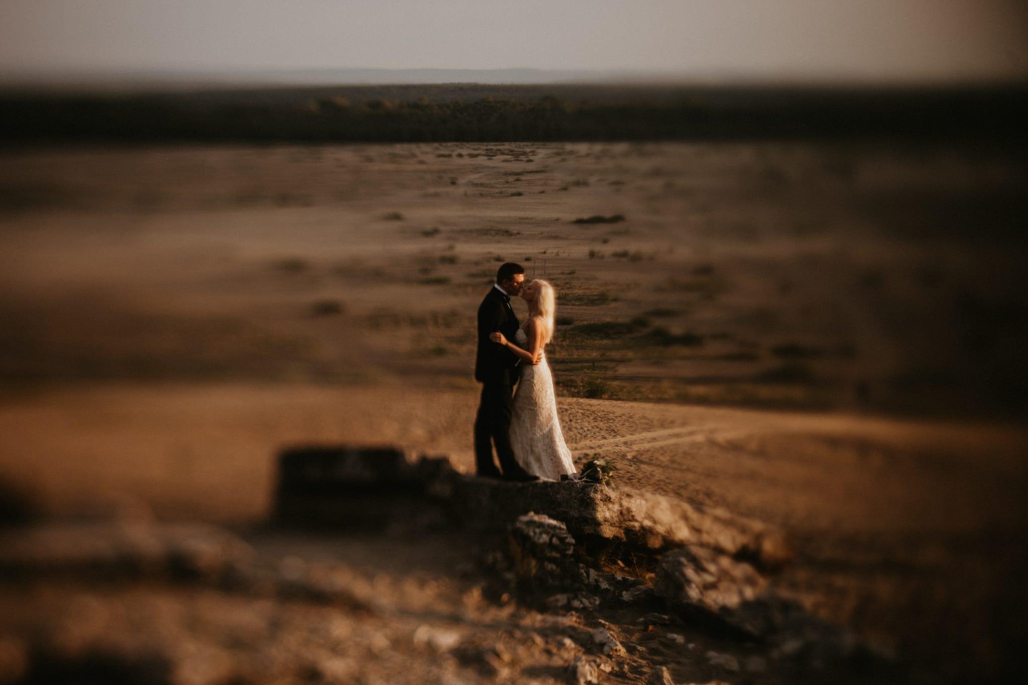Patrycja & Łukasz <br>Sesja ślubna na pustyni 20