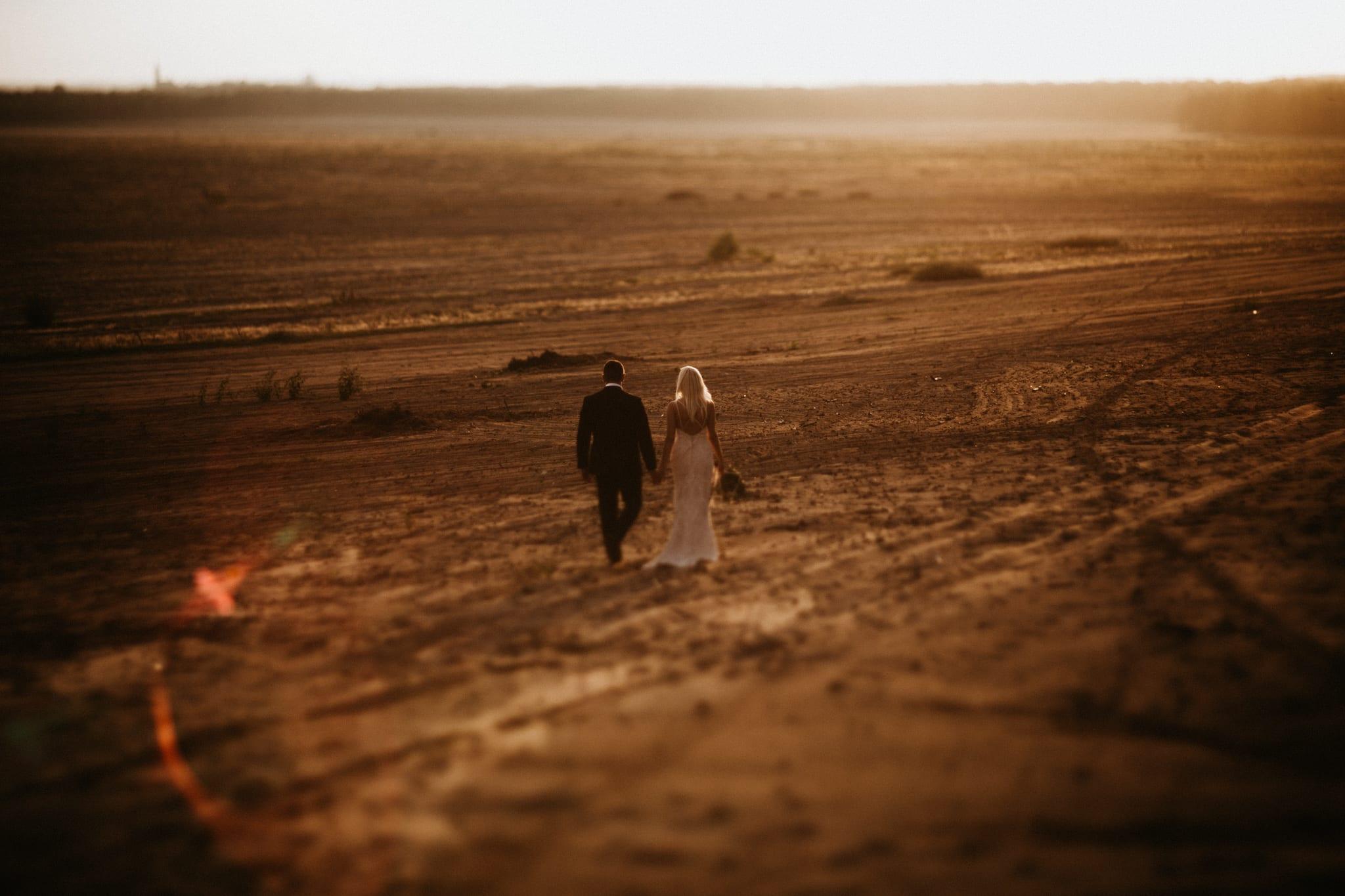 Patrycja & Łukasz <br>Sesja ślubna na pustyni 22