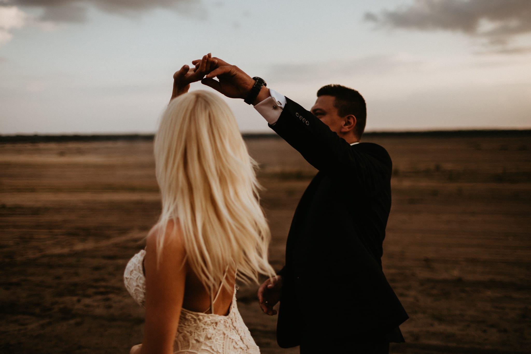 Patrycja & Łukasz <br>Sesja ślubna na pustyni 24