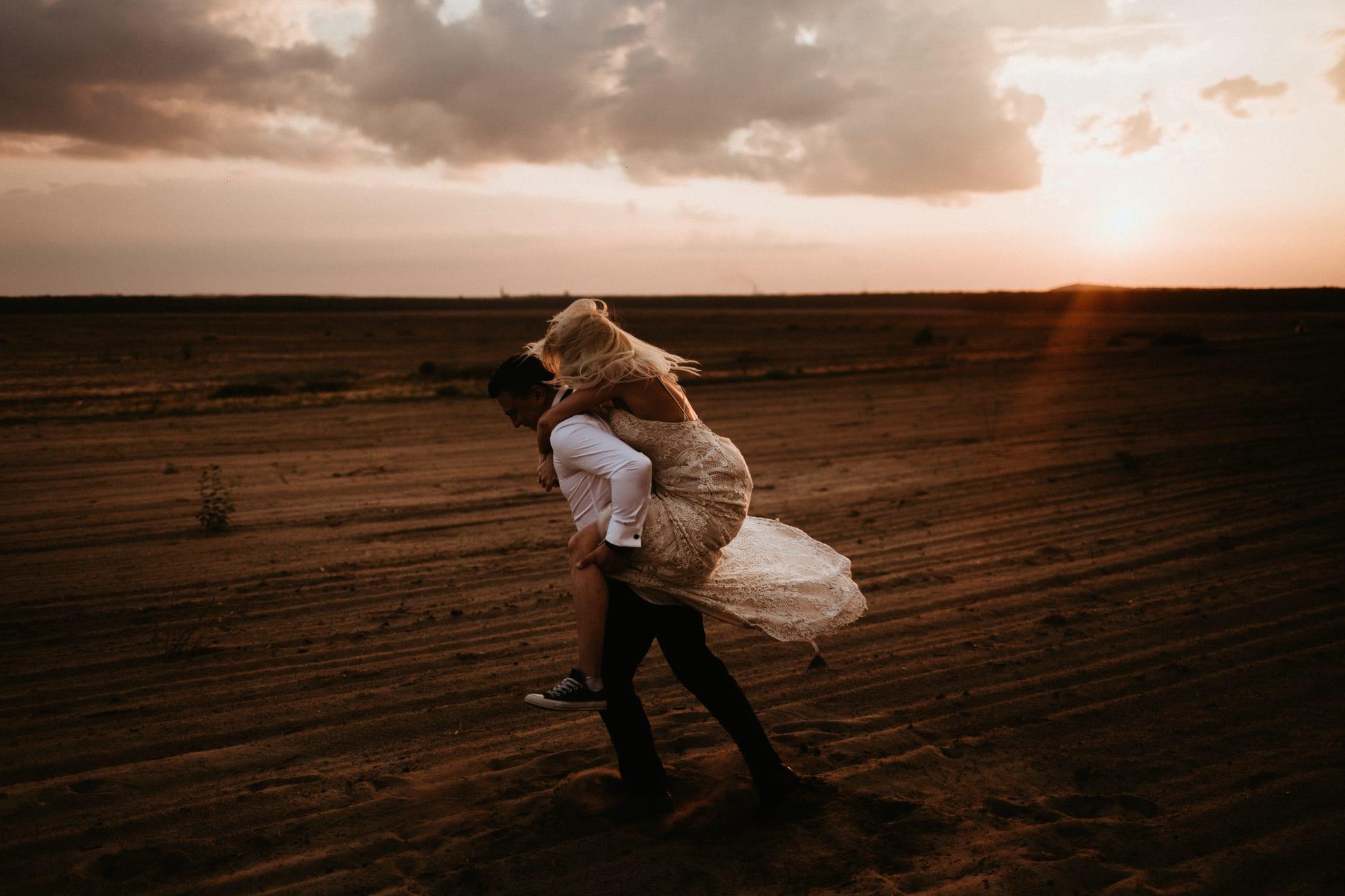 Patrycja & Łukasz <br>Sesja ślubna na pustyni 31