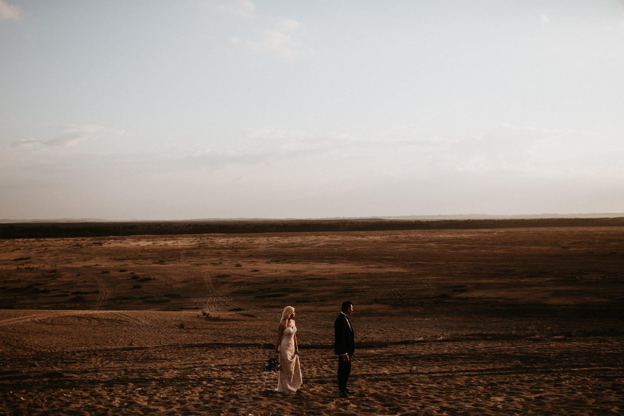 Patrycja & Łukasz <br>Sesja ślubna na pustyni 33