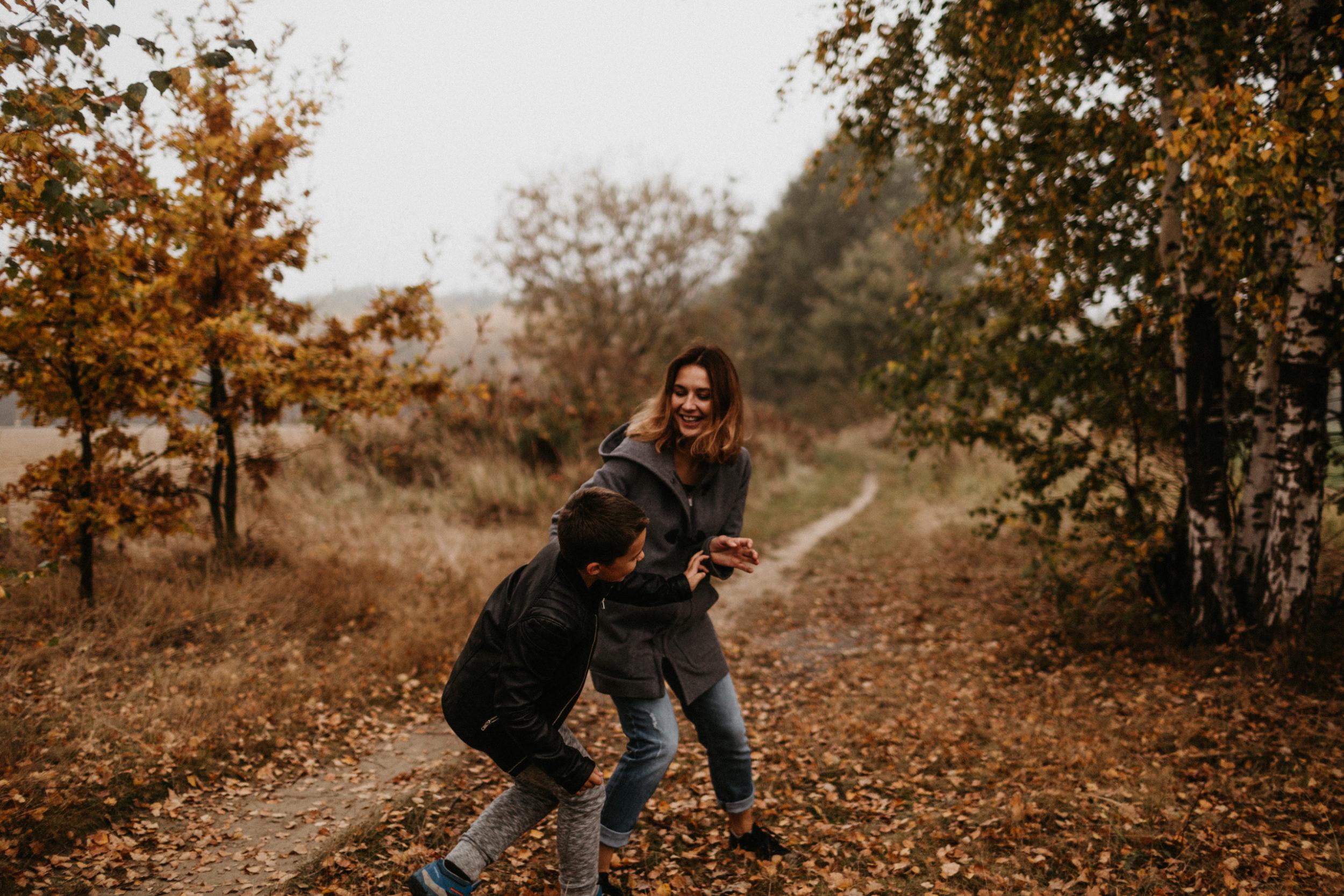 jesienna sesja rodzinna fotografia gliwice 00010