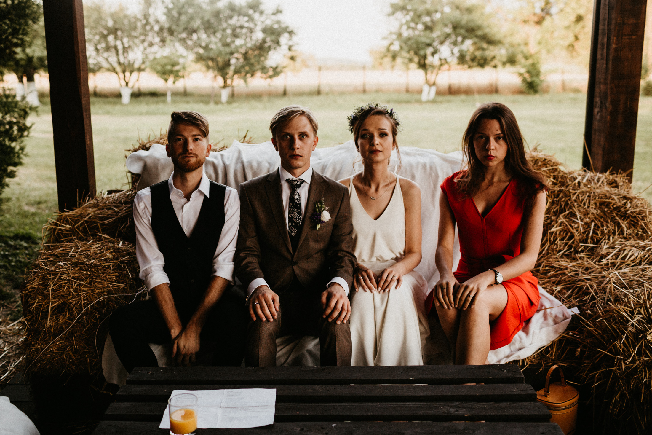 wesele w stodole folwark wiazy krakow slub 00122