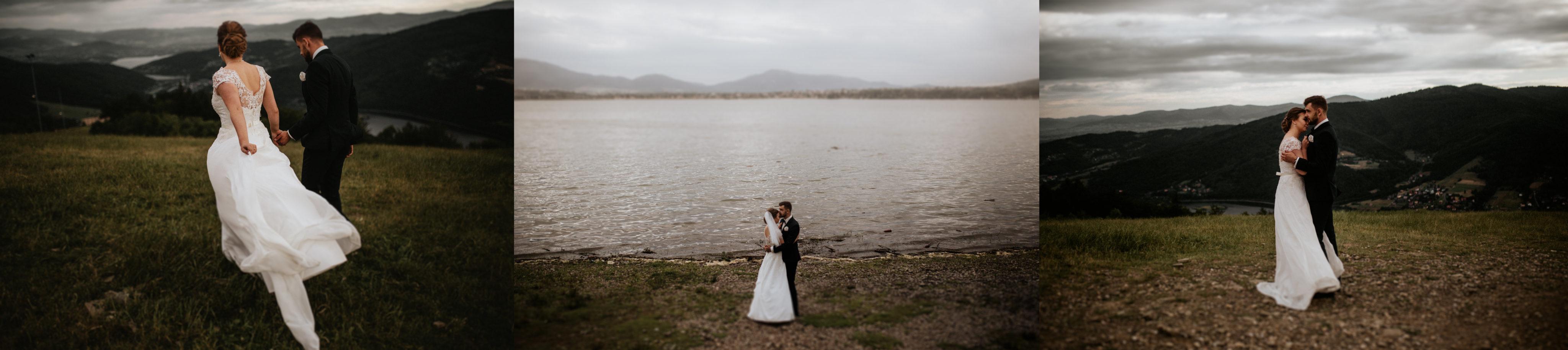 miejsca na plener slubny gora zar jezioro zywieckie