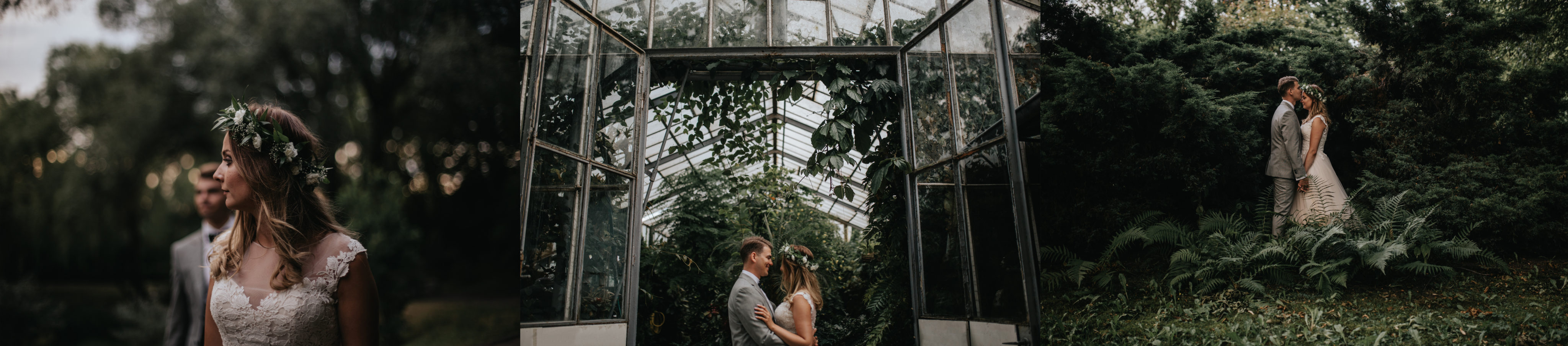 miejsca na plener slubny ogrod botaniczny zabrze
