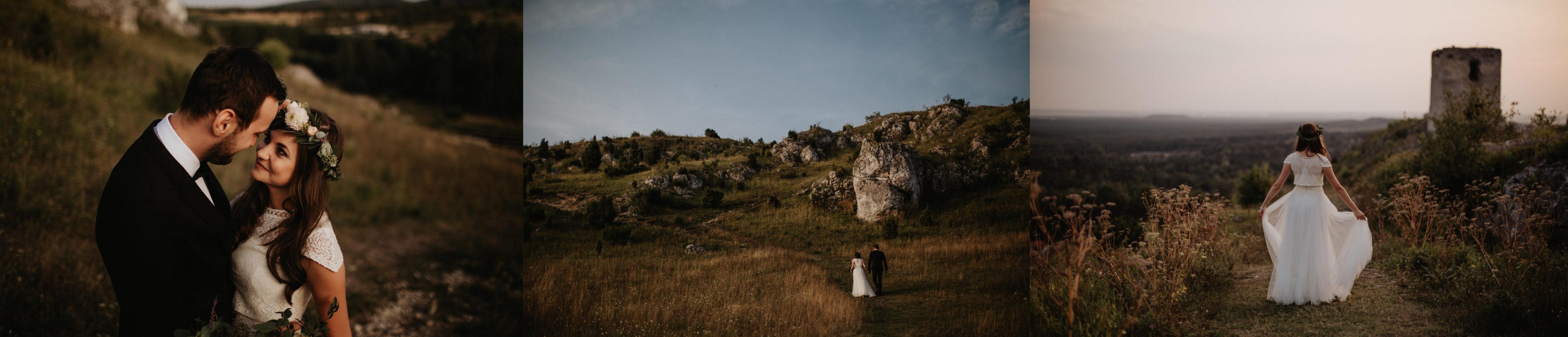 miejsca na plener slubny zamek olsztyn fotograf